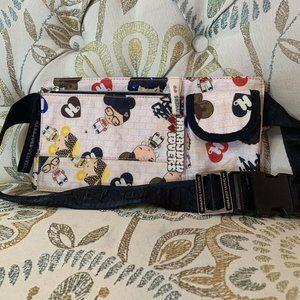 Vintage Harajuku Lovers Belt Bag BumBag Fanny Pack